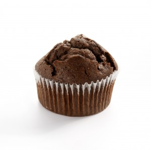 (CF21) Double Choc Muffin