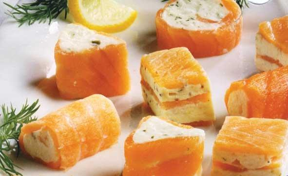 Smoked Salmon Canapes - Templetuohy Foods