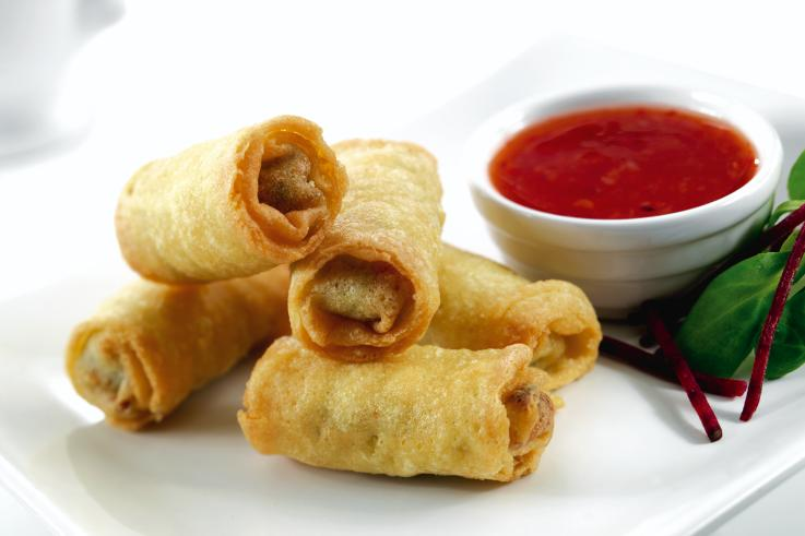 Mini Vegetable Spring Rolls - Templetuohy Foods