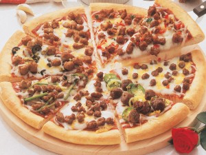 (PZP3) spicy beef pizza topping1