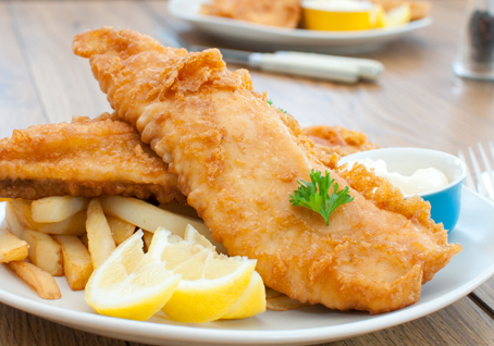 Battered cod clear bag templetuohy foods for Fish batter for cod